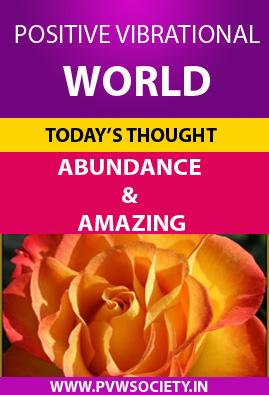 Abundance and amazing