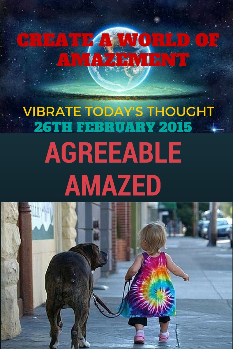 Agreeable And amazed