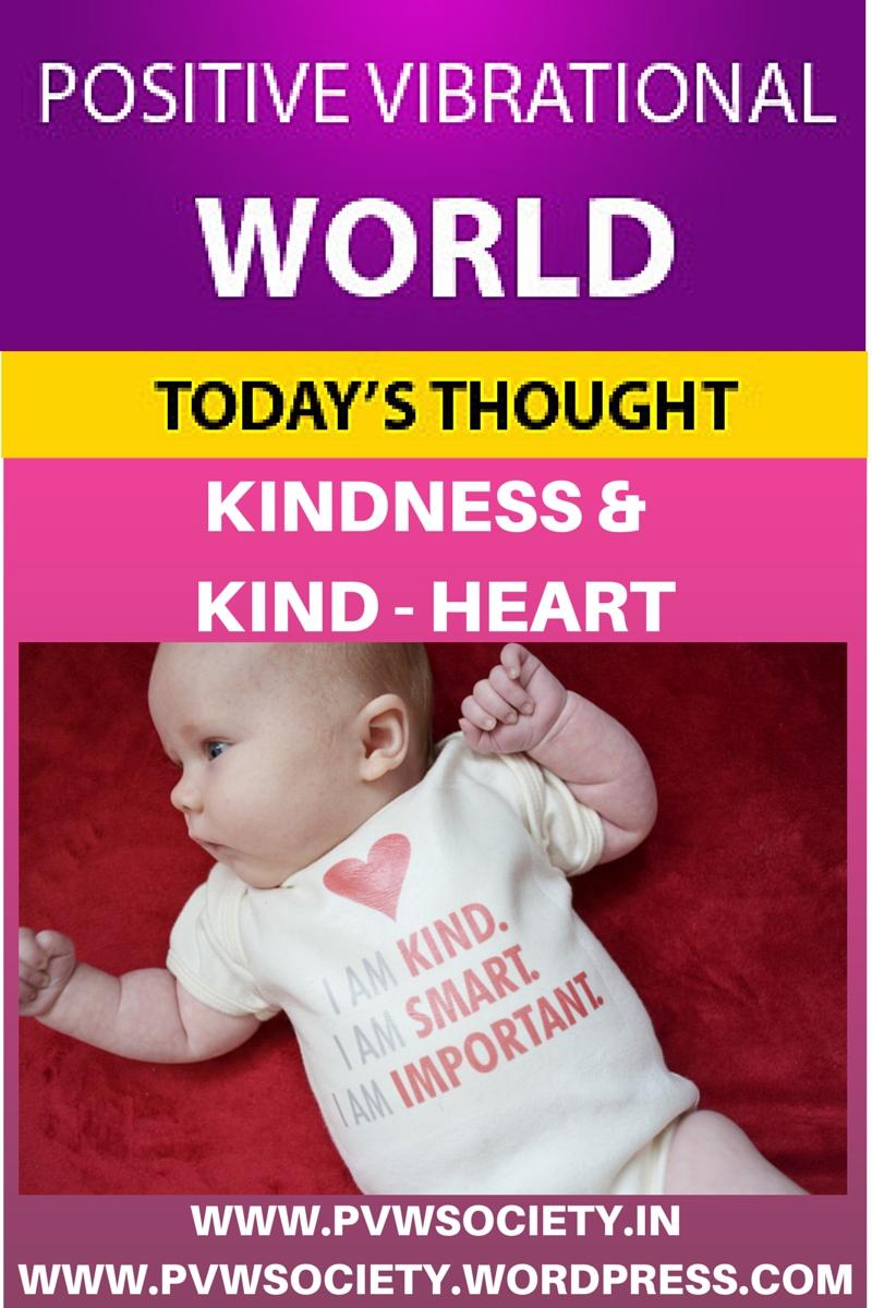 KINDNESS AND KIND HEART1