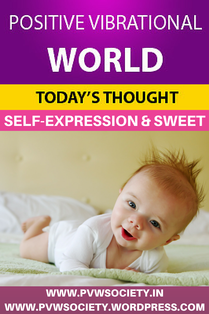SELF - EXPRESSION AND SWEET